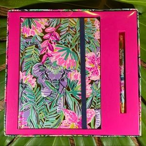 NWT! Lilly Pulitzer Journal With Pen
